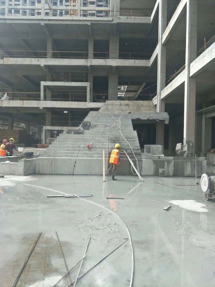 呼和浩特电厂工厂车间改造拆除-混凝土切割施工案例
